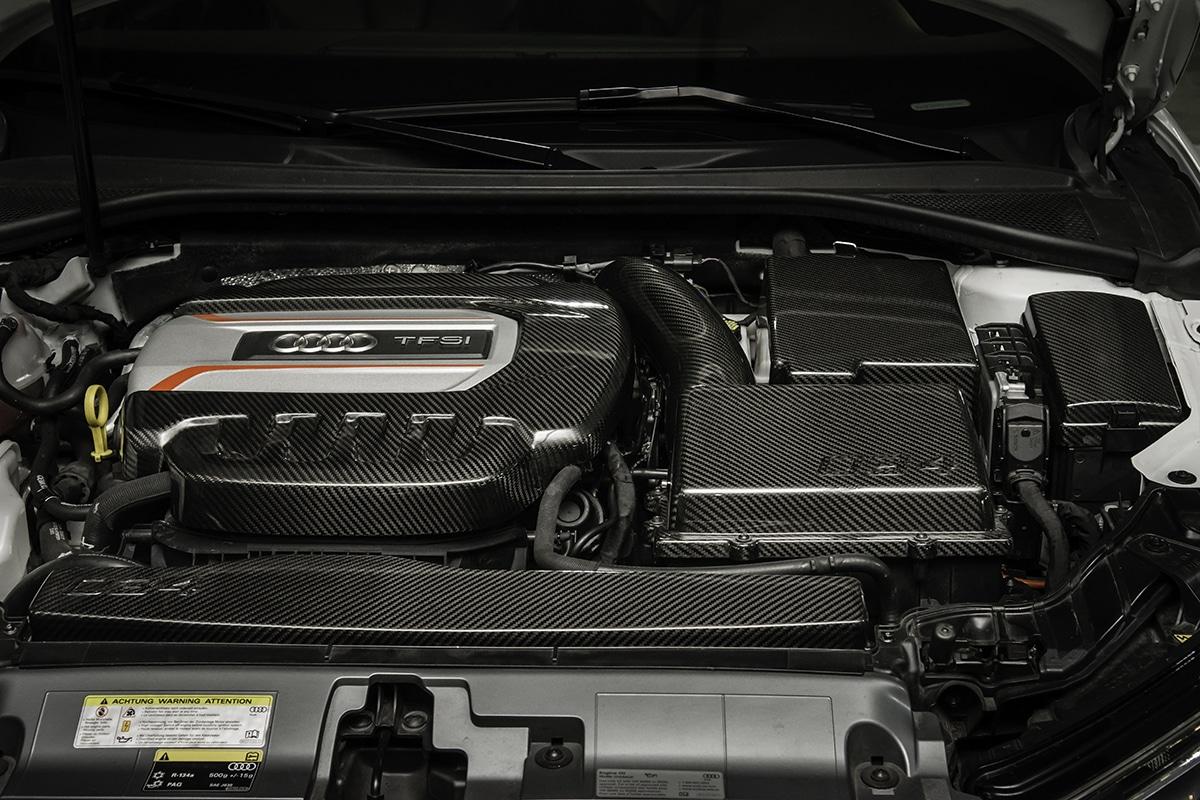 034Motorsport Carbon Fiber Fuse Box Cover, MkVII Volkswagen GTI & Golf R,  8V Audi