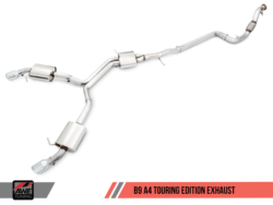 AWE Tuning Audi A4 B9 2.0T Touring Edition Exhaust System AWET0091