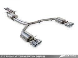 AWE Tuning Audi A7 (C7.5) 3.0TFSI Touring Edition Exhaust System AWET0094