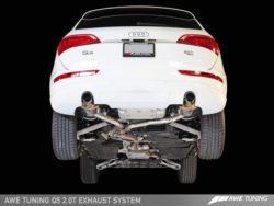 AWE Tuning Audi Q5 2.0TFSI Touring Edition Exhaust AWET0100