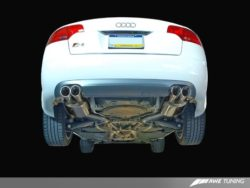 AWE Tuning Audi S4 B7 4.2 V8 Exhaust Systems AWET0088