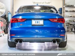 AWE Tuning S3 8V Saloon SwitchPath Exhaust System AWET0037