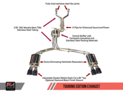 AWE Tuning S6 4.0T Touring Edition Exhaust AWET0116