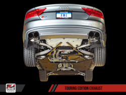 AWE Tuning S7 4.0T Touring Edition Exhaust AWET0112