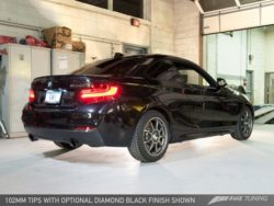 AWE Tuning BMW F22 M235i Touring Edition Axle-Back Exhaust AWET0141