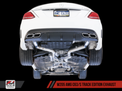 AWE Tuning Mercedes-Benz W205 AMG C63 / C63S Track Edition Exhaust AWET0154