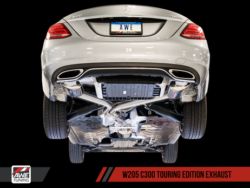 AWE Tuning Mercedes-Benz W205 C300 Touring Edition Exhaust AWET0150