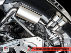 AWE Tuning Porsche 718 Boxster & Cayman SwitchPath Exhaust AWET0156