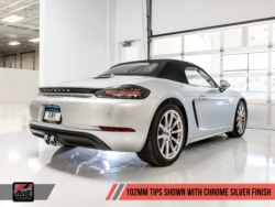 AWE Tuning Porsche 718 Boxster & Cayman Touring Edition Exhaust AWET0157