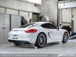 AWE Tuning Porsche 981 Cayman 'S' Performance Exhaust AWET0164