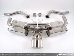 AWE Tuning Porsche 987 Boxster & Cayman Exhaust Options AWET0025