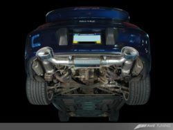 AWE Tuning Porsche 996 Turbo and GT2 Performance Exhaust System AWET0176