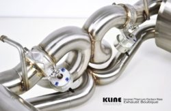 Kline Ferrari 458 Italia Rear Section including Cat Pipes Stainless Steel/Inconel 625