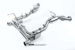 Kline Ferrari 488GTB Rear Section including Cat Pipes Stainless Steel/Inconel 625
