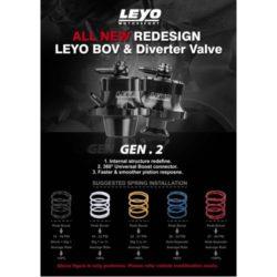 LEYO Motorsport – Diverter/ BOV Upgraded Spring kit – L037B