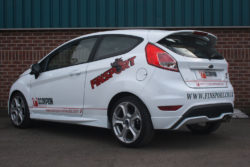 Scorpion Ford Fiesta ST 180 (13-15) 3″ Non-Resonated Cat-Back Exhaust- Polished Twin Daytona Tips – SFDS074