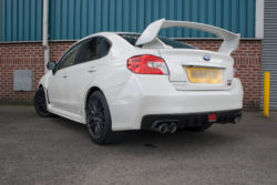 Scorpion Subaru Impreza STI 2.5L Turbo (14-15) Rear Silencers- Polished Quad Daytona Tips – SSUB011