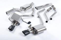Milltek Audi S4 V6 (09-12) & S5 Coupe & Cabriolet Quattro (S Tronic) (09-11) Cat-Back Exhaust – SSXAU380
