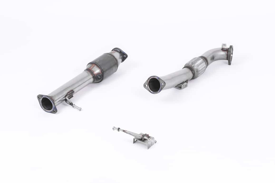 Milltek Ford Focus Mk2 ST 225 05 10 Large Bore Downpipe And Hi