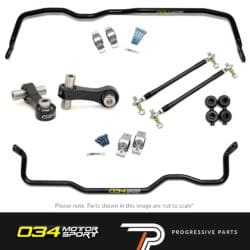 034Motorsport Performance Handing Kit - Golf 'R'/Audi S3/RS3/TTS/TTRS/A3 Quattro