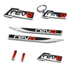 Revo Badges, Keyrings and Accessories